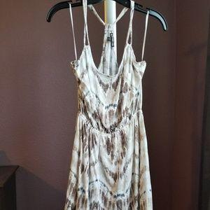 Express Cotton halter dress